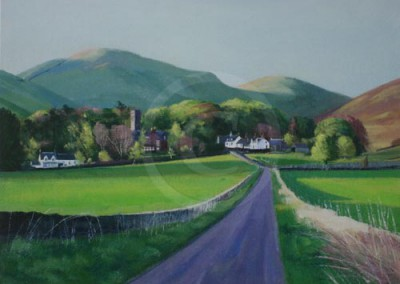 Spring Evening, Durisdeer | £100