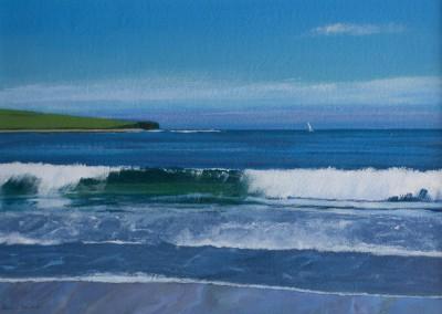 Summer Wave Orkney